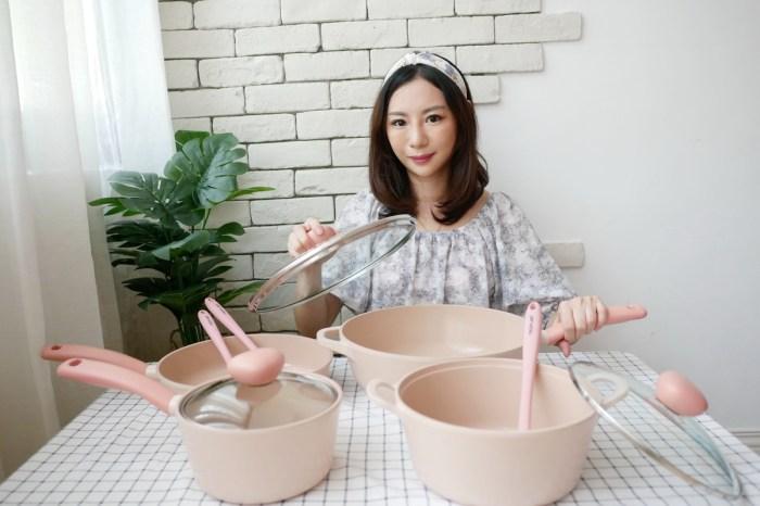 [生活] 最美的鍋具-韓國Neoflam Retro系列/蜜桃雪酪系列 (環保無毒陶瓷塗層)