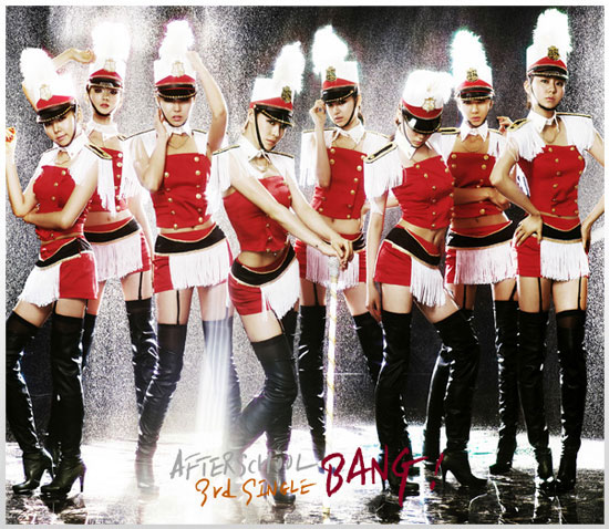 Korean pop group After School latest album Bang