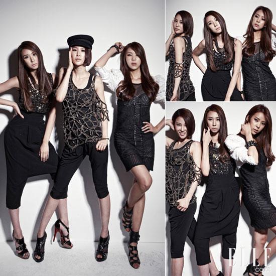 Nine Muses on Elle Magazine