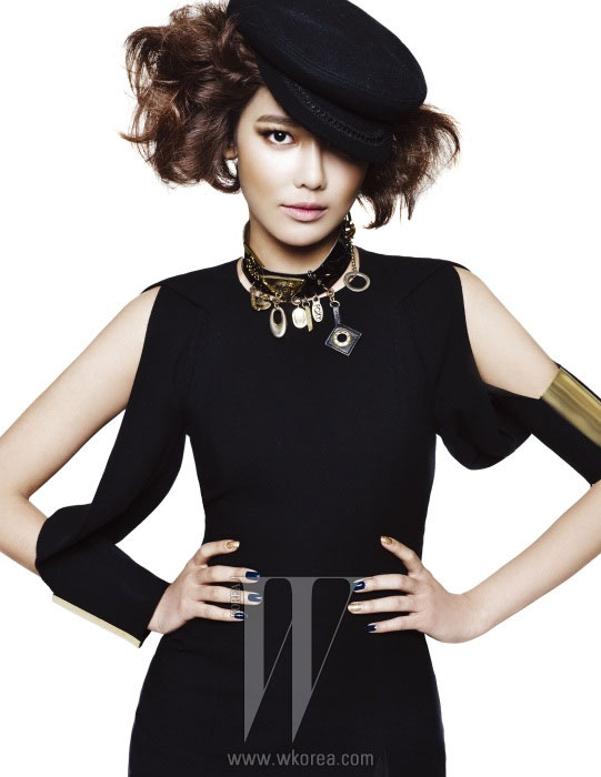 Girls Generation Sooyoung on W Korea magazine