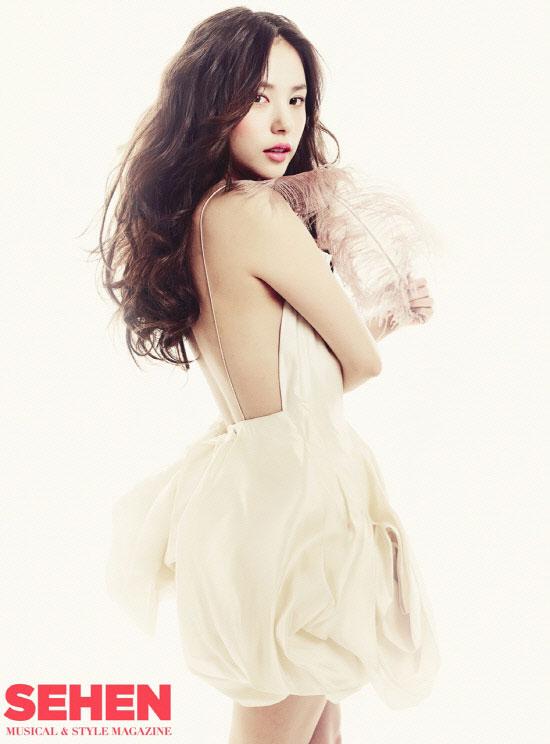 Min Hyo-rin on Sehen magazine