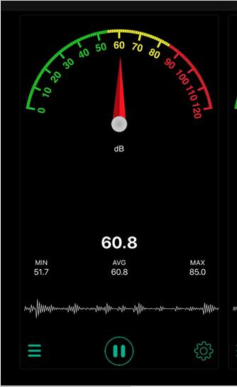 SoundMeter App