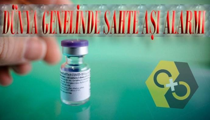 Sahte korona aşısı satışı