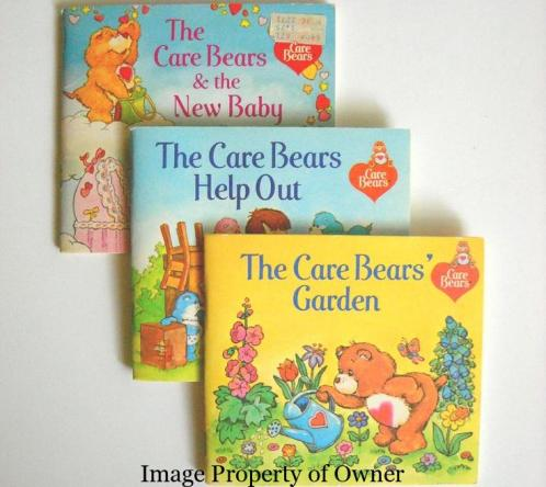 Care Bears paperbacks - author unknown