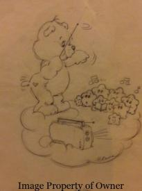 (unknown) Bear conducting the star chorus