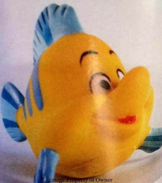 Little Mermaid Tub Toy- Flounder