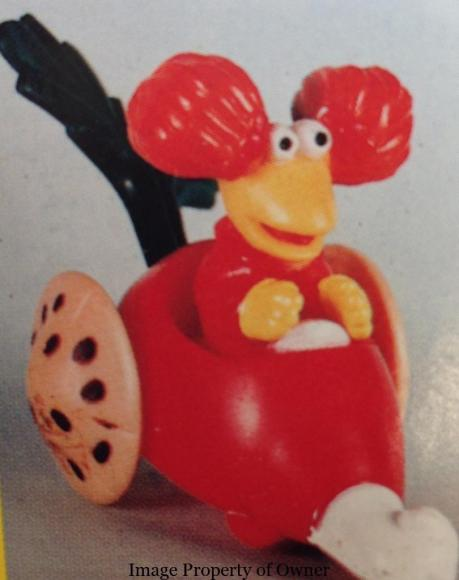 Fraggle Rock Red Radish Car