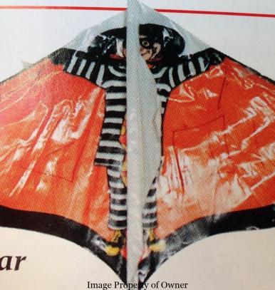 Hamburglar kite