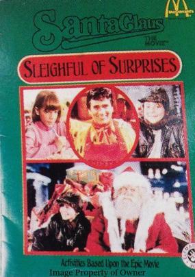 Santa Claus the Movie activity book
