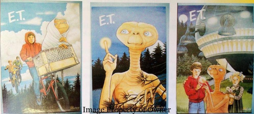 ET posters