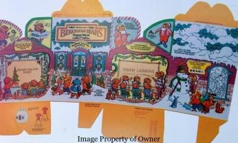 Berenstein Bears Happy Meal layout