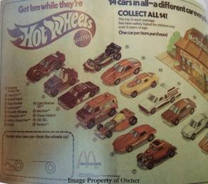 Hot Wheels Paper Ad