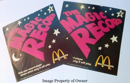 Magic Record LP sleeves