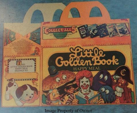 Little Golden Book Happy Meal Box