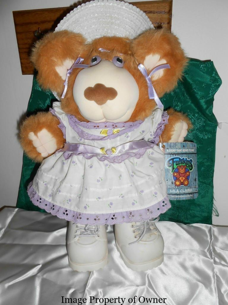 Cabbage Patch Furskin Bears And Koosa Pets Yello80s