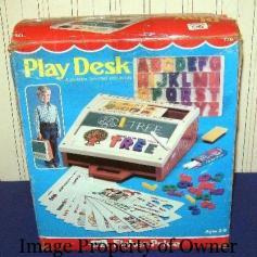 1972 Playdesk - judysvintagefptoys.com