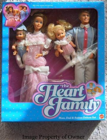 Barbie Hart Family - 1000barbies.com