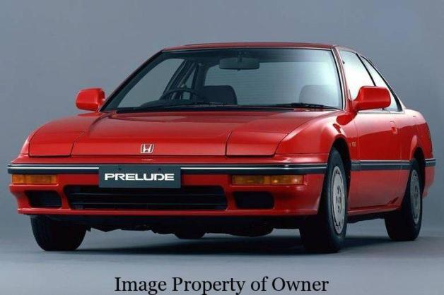 Honda Prelude- author unknown