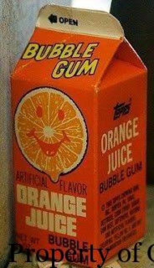 OJ bubble gum