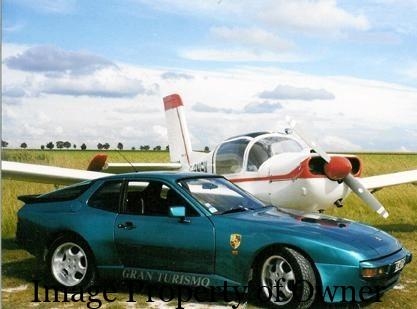 Porsche 924 - author unknown