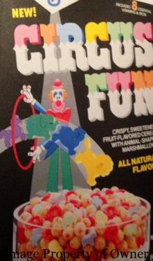 General Mills Circus Fun author unknown