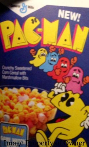 Pac-Man Cereal unknown author