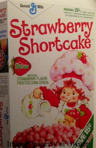 General Mills Strawberry Shortcake author unknown