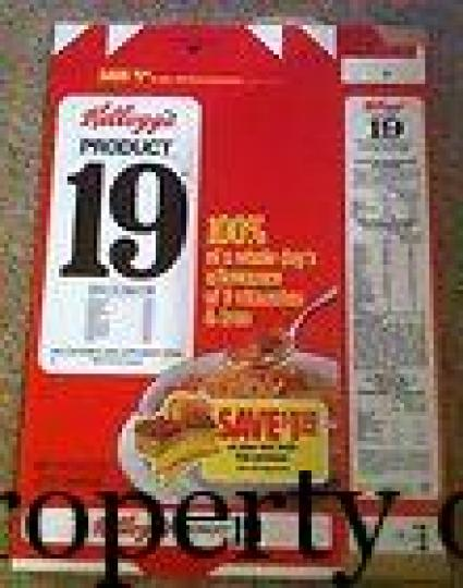 Kellogg's Product 19 - oldcoffinnail