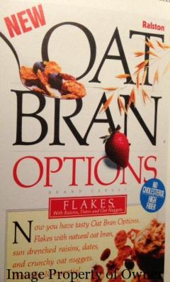 Oat Bran Options author unknown