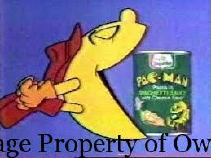 Pacman pasta- author unknown