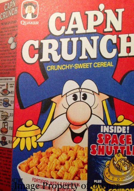 Quaker Cap 'n Crunch author unknown