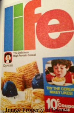 Quaker Life Cereal author unknown