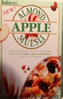 Ralston Almond and Apple Muesli