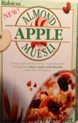 Ralston Almond and Apple Muesli author unknown