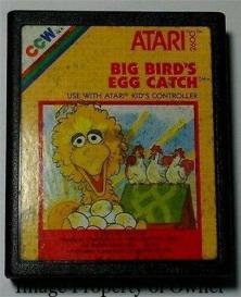 ATARI Big Bird's Egg Catcher- razor206