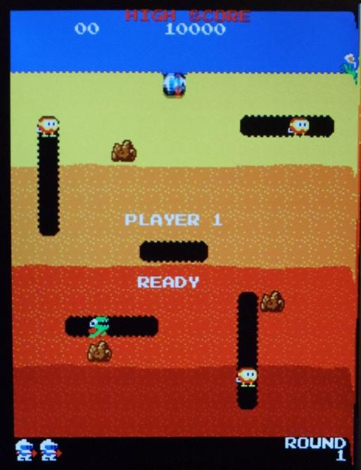 DIg Dug dcreen shot property bradysana