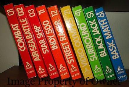 Atari 2600 games - joker454