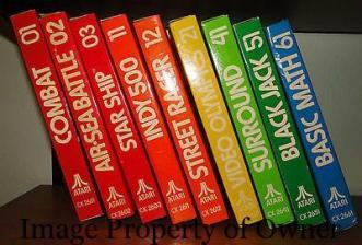 Atari 2600 games property joker454