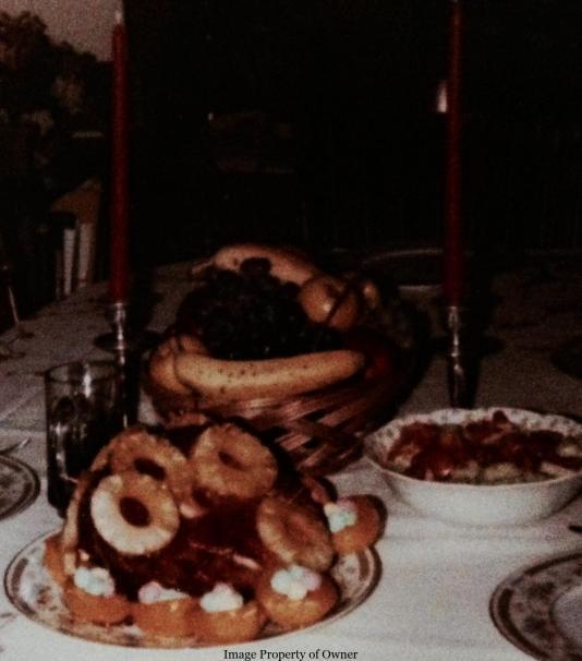 Easter Dinner at my Grandparents'