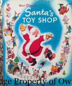 I just loved picking out the toys I wanted in the illustrations- that Santa could come to my house!!