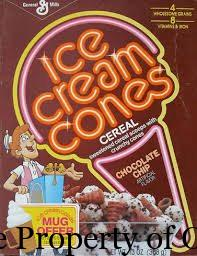 1987 Ice Cream Cones Chocolate Chip property mrpottersfuntimeblog.blogspot.com