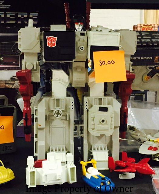 An Impressive Transformer from Steve's collection.