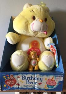 "18"" and poseable Birthday Bears"