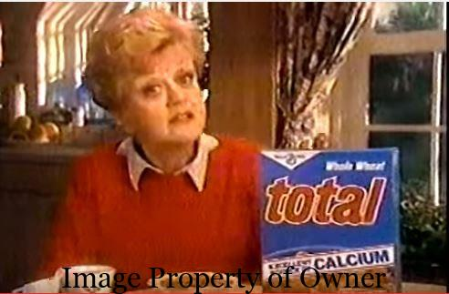 Angela Lansbury selling Total