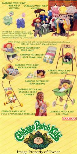 Cabbage Patch Kid Names List – Yello80s