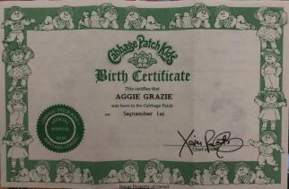 'Kid Birth Certificate