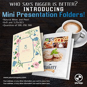 Mini Presentation Folders Miami