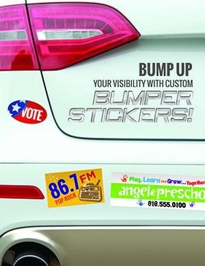 Promotional Bumper Stickers Miami