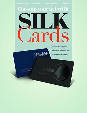 Silk Business Card Miami