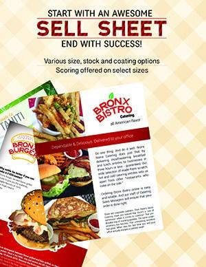 Sell Sheet for Restaurants Miami